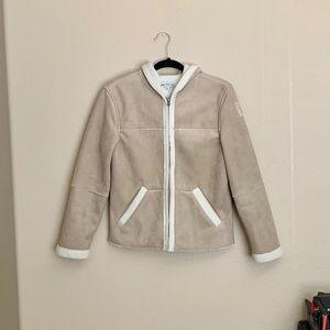 EUC warm hooded jacket ❤️